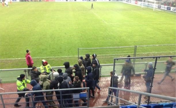 Болельщики «Торпедо» пытались прорваться на поле во время матча с «Арсеналом»