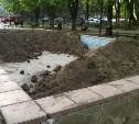 Тульские фонтаны засыпают землей