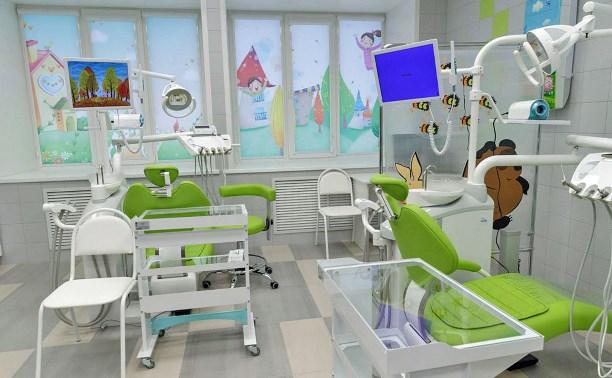 В Новомосковске после ремонта открыли детскую поликлинику