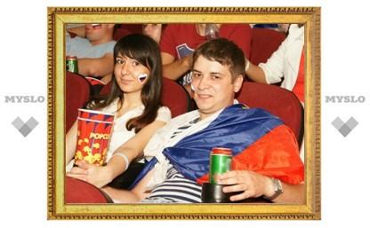 Туляки продолжают поддерживать Россию на Евро-2012