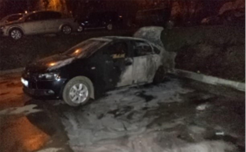 Ночью пьяный алексинец из мести сжёг два автомобиля