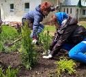 В селе Тургенево высадился трудовой десант