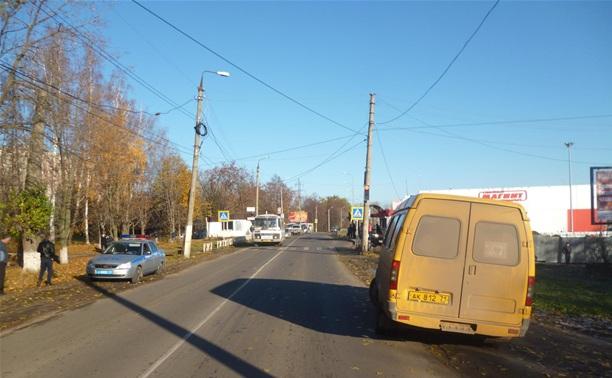 В Новомосковске водитель «Газели» сбил 82-летнюю женщину