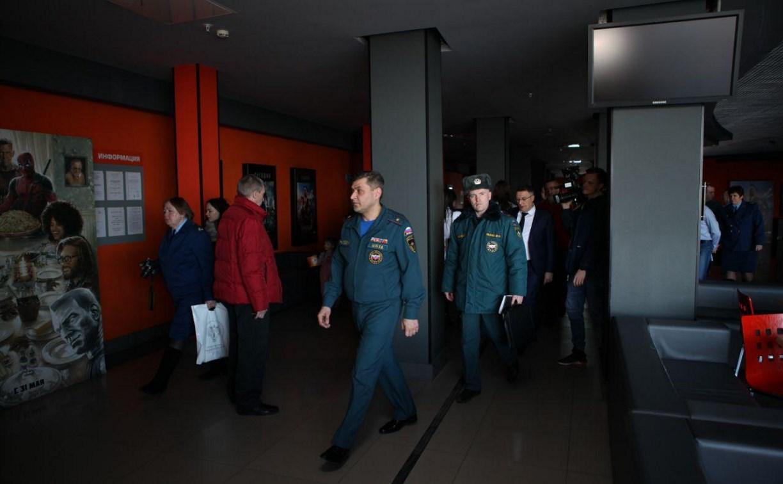 Проверка ТЦ в Туле: Генпрокуратура нашла нарушения в кинотеатре «Гостиного двора»