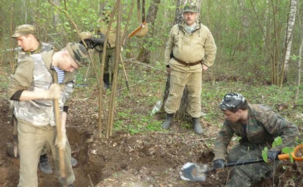 В Калужской области найдены останки туляка, погибшего во время Великой Отечественной войны