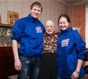 Тульская молодежь помогает пожилым людям в работе по дому