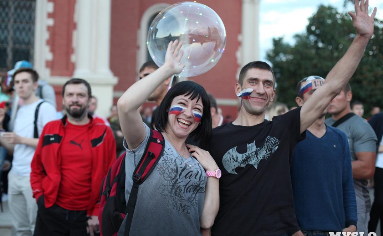 Где тулякам на больших экранах посмотреть матчи сборной России на Евро-2020