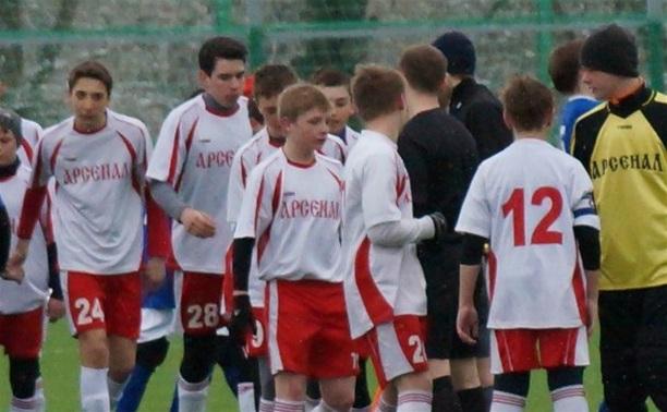Тульский «Арсенал-99» занял восьмое место в Кубке РФС