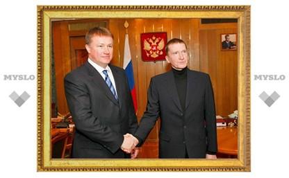 Тулу посетил руководитель ФА по управлению госимуществом