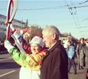 Факелоносец Олимпиады-80 и Сочи-2014 Надежда Козьякова: «Это грандиозный праздник для всей страны!»