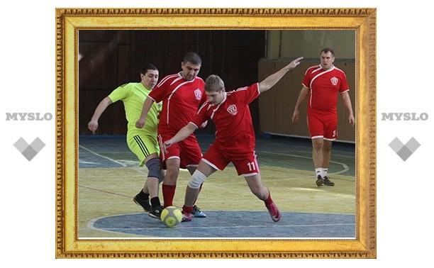 В тульских лигах любителей футбола прошли очередные матчи