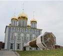 Утром 15 ноября в Тулу привезли шпиль для колокольни Успенского собора
