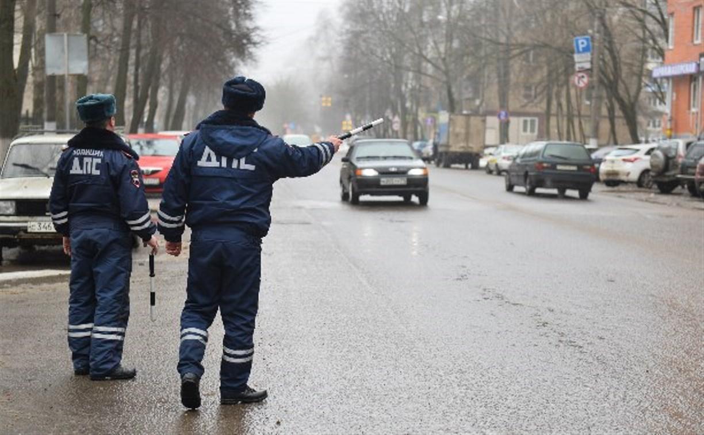 В Тульской области сотрудники ГИБДД перешли на усиленный режим работы