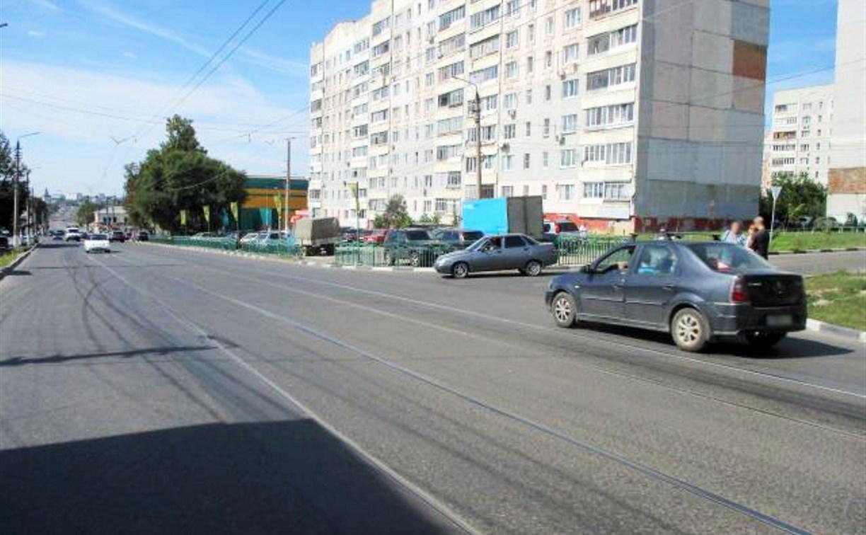 В Туле на улице Епифанской пенсионерка попала под колеса «семерки»