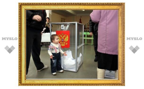 В Тульской области проголосовала почти половина избирателей