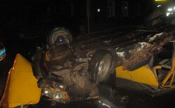 Пьяный туляк на «шестерке» чудом не пострадал в аварии