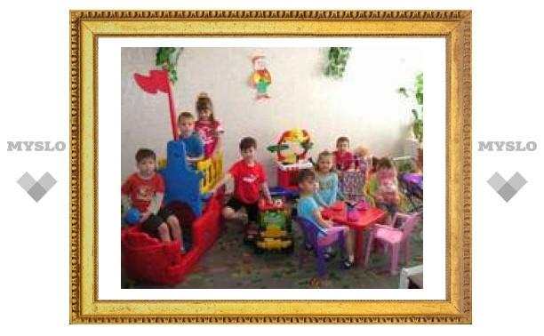 В детские сады Тулы дали тепло