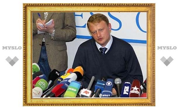 Телеканалы проигнорировали пресс-конференцию Дымовского