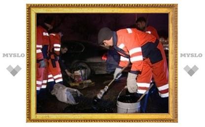 Дороги Тулы будут ремонтировать ночью