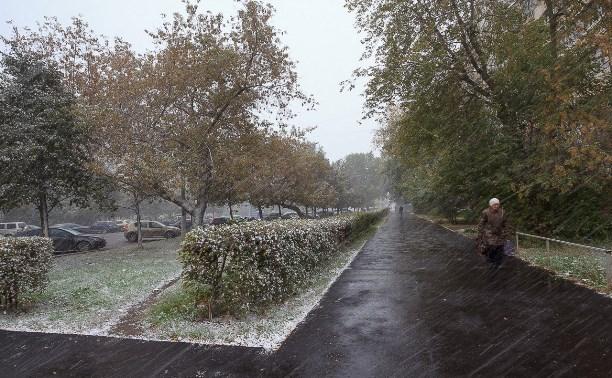 Тульские синоптики прогнозируют дождь со снегом на 22 октября
