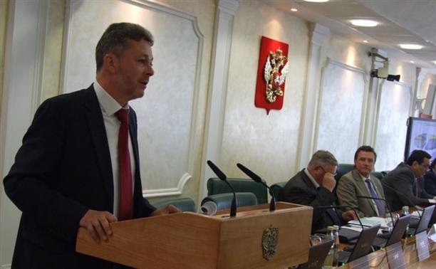 В Совете Федерации обсудили сбалансированность бюджета Тульской области