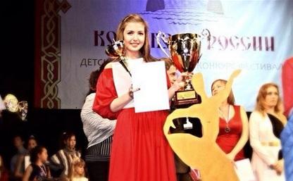 Анна Ушанова - абсолютный победитель Всероссийского конкурса!