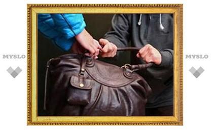 Под Тулой подросток вырвал у женщины сумку