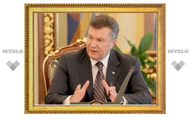 Янукович попросил Москву обойтись без ярлыков