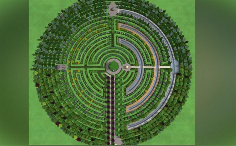 В Тульской области высадят самый большой в мире лабиринт из растений