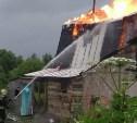 В деревне Торхово сгорел дом