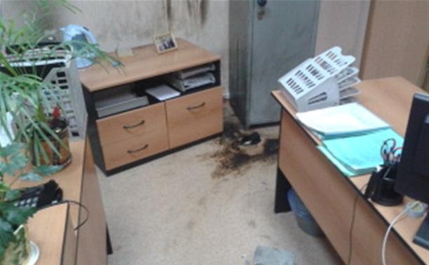 В здании администрации Новомосковска произошел пожар
