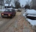 Расчистка города от снега идет в круглосуточном режиме