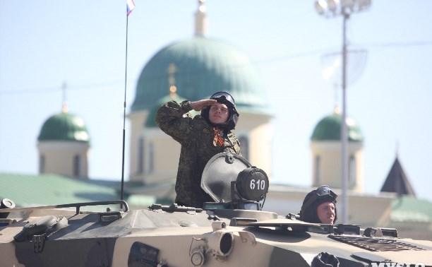 В апреле и в начале мая на площади Ленина пройдут репетиции парада Победы