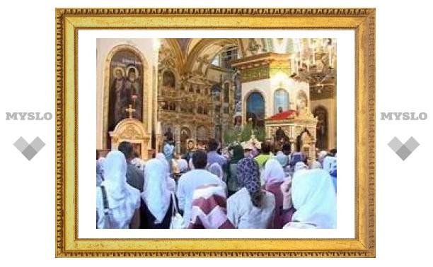 В Храмах Тулы празднуют День апостола Андрея