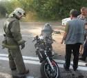 Мотоциклист госпитализирован после столкновения с легковушкой