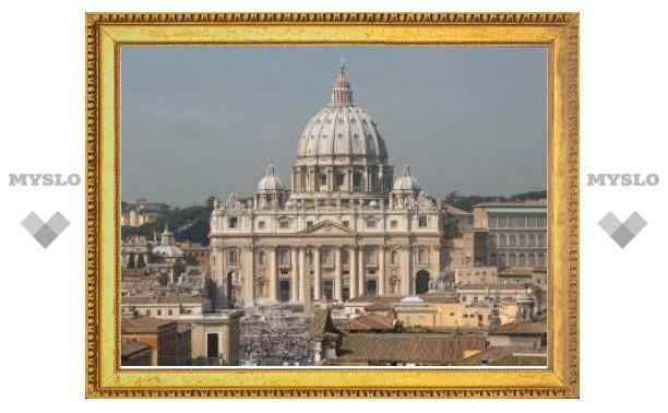Россия установила дипломатические отношения с Ватиканом