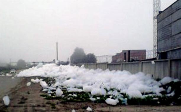 В Новомосковске канализацию промыли гелем для душа