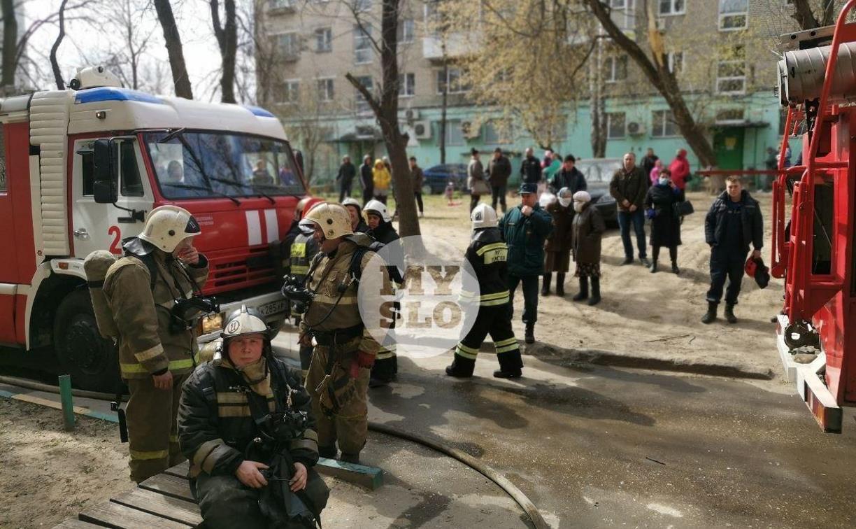 При пожаре на улице Октябрьской в Туле один человек погиб, двое пострадали