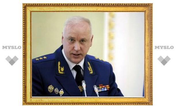 Александр Бастрыкин лично осматривает место убийства в Туле