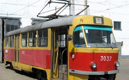 Перекрывается движение трамваев на участке от ул. Пролетарской до ул. Оборонной