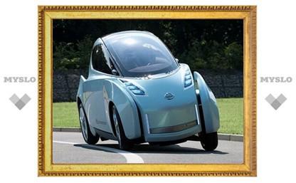 Nissan привезет в Токио прототип двухместного электрокара