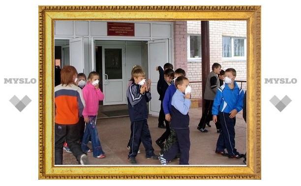 В новомосковской школе ученик распылил слезоточивый газ