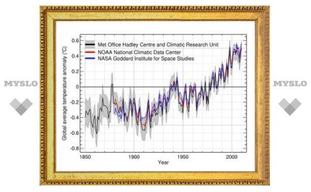 2010 год признали самым теплым за всю историю наблюдений