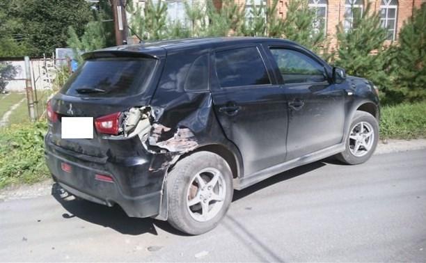 В Туле в результате ДТП пострадал водитель мотороллера