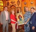 Алексинской воспитательной колонии подарили икону Божией Матери «Афонская»