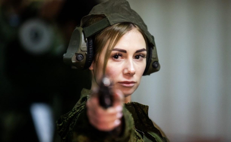 В Туле десантницы со всей России соревнуются в конкурсе «Краса ВДВ»: фоторепортаж