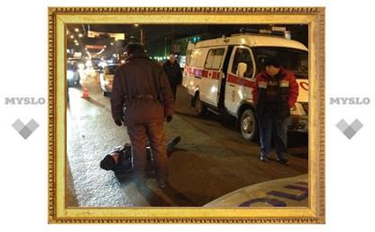 В Туле пешеход попал под колеса такси