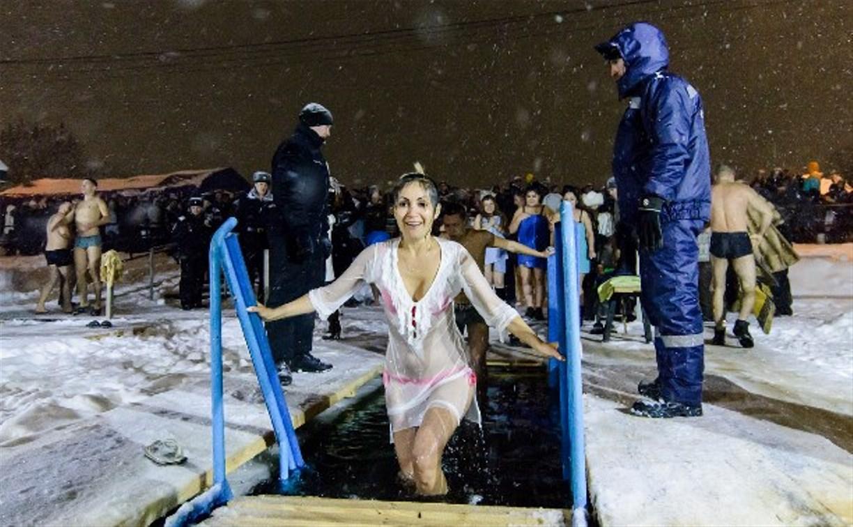 Туляки приняли участие в крещенских купаниях