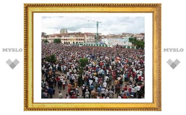 Жертвы беспорядков в Мадагаскаре