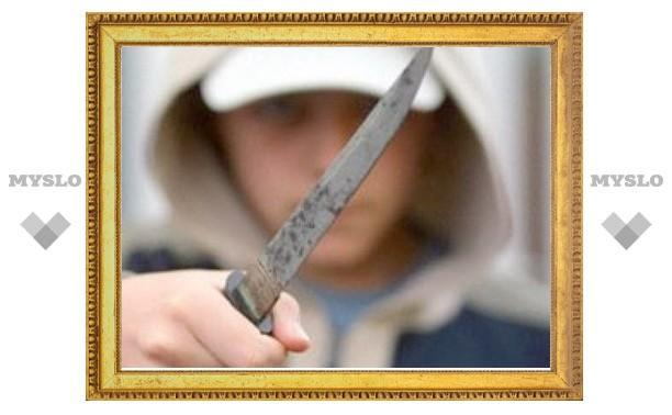 В Туле задержан нападавший с ножом грабитель